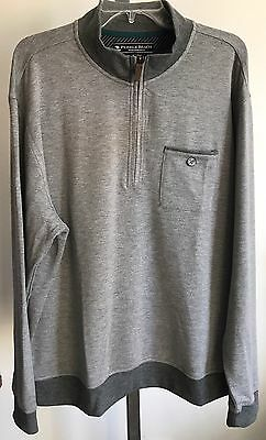 Pebble Beach Men's 1/4 Zip Sweater - Size: XL             F-6 ()