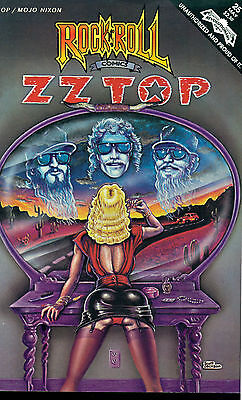 ROCK & ROLL COMICS #25 Z Z TOP & Mojo Nixon (1991) Revolutionary Comics