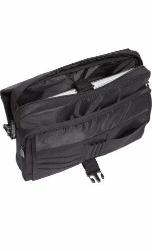 Targus 15.6 Laptop Messenger - Black Messenger Bag NWT - $21.99