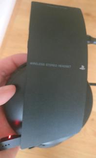Original PlayStation wireless headset