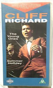 VHS Cliff Richard Double Feature &quot;The Young Ones/Summer Holiday&quot; - <span itemprop='availableAtOrFrom'>Wien, Österreich</span> - VHS Cliff Richard Double Feature &quot;The Young Ones/Summer Holiday&quot; - Wien, Österreich
