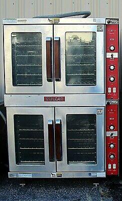 Vulcan Et88t Double Deck Electric Convection Oven