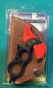 WYOMING KNIFE w leather sheath field dress skinning made USA tool hunting WKSP