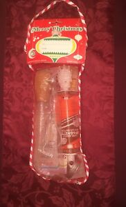 VINTAGE MESH STOCKING WITH KITCHENWARE