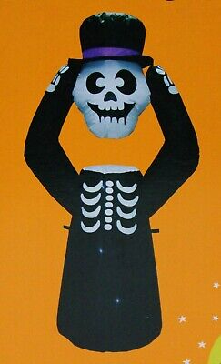 Rite Aid Halloween (Rite Aid Inflatable Halloween Decoration 4 Feet Tall  Skeleton or Ghost)