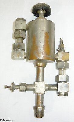 Vintage Michigan Lubricator Co Detroit Michigan Hit Miss Steam Engine Oiler