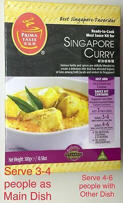 Prima Taste Singapore Curry Sauce Kit 10.5 oz SINGAPORE Curry  PLATED BLUE APRON Prima Sauce