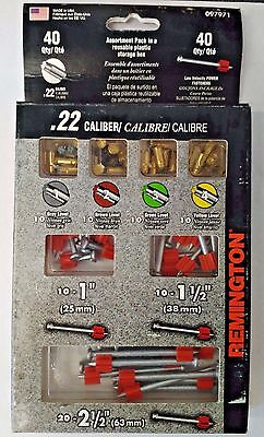 Remington 40PC Shots & Pins Power Fasteners 097971