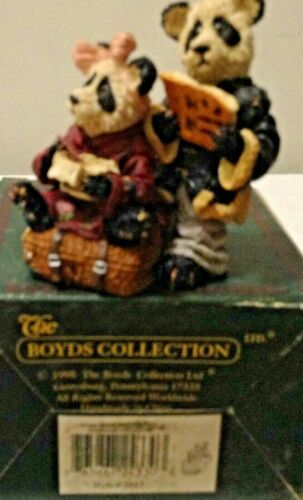 1999 BOYDS BEARS AND FRIENDS Hsing and Ling Ling Wongbruin ...carry out