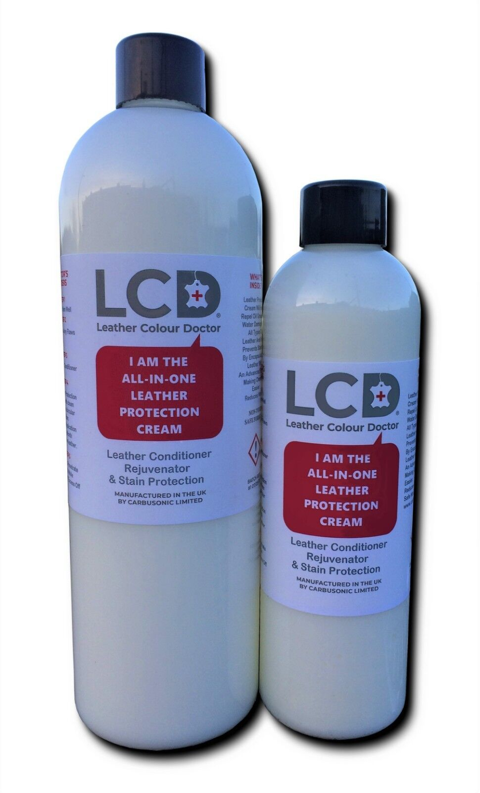 Leather Protection Cream, Conditions Protects For Sofas Cars Handbags Jackets.