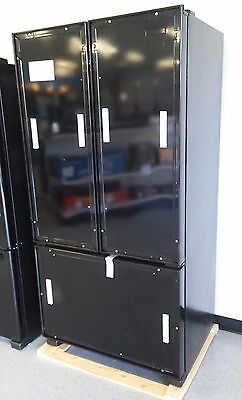 ثلاجة جديد KitchenAid NEW Panel Ready 21.9 cu. ft. French-Door Refrigerator KFCO22EVBL