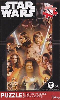 NEW Star Wars 300 Piece Jigsaw Puzzle~Anakin Skywalker, Luke Skywalker,  Emperor