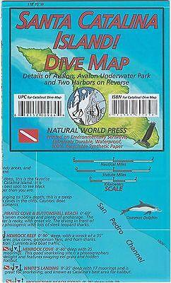 Santa Catalina Island Dive Map Waterproof Map by Frank Nielsen
