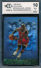 Michael Jordan 10 Graded Basketball Trading Cards