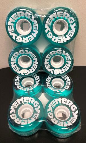RADAR ENERGY Quad Skate WHEELS 8PK TEAL 78A 32mm X 62mm Outdoor Performance NEW