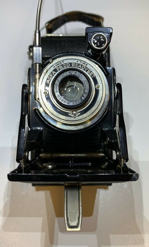 Vintage AGFA PB 20 READYSET Compact Folding Camera by AGFA Ansco Corp. TESTED!!!