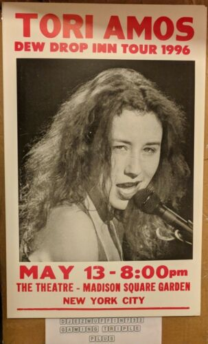 TORI AMOS DEW DROP INN TOUR 14X22 AT MADISON SQUARE GARDEN POSTER (MEDIUM STOCK)
