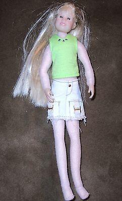 Only Hearts Club Doll~Karina Grace~Blonde Hair~Dressed In Denim Skirt/Green Top~