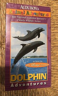 Audubons Animal Adventures: Dolphin Adventures VHS As Seen on The Disney Channel