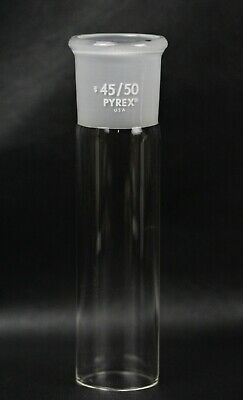 Pyrex Glass 4550 Outer Ground Joint Standard Taper No. 6580  7.75 Overall