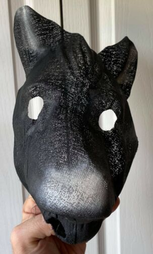 Vintage & Unused 1940s Horse Donkey Gauze Halloween Costume Mask