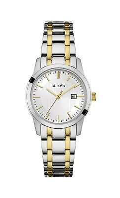 Bulova Women's 98M122 Classic Quartz Two-Tone Bracelet 30mm Watch