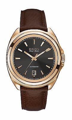 Bulova Accutron Men's 64B126 Accu Swiss Telc Automatic Black Dial Dress Watch