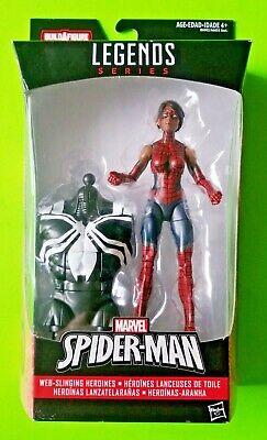 """Marvel Legends Web-Slinging Heroines 6"""" Spider-Girl (Venom BAF) - NEW/SEALED"""