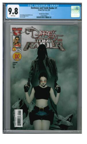 Darkness and Tomb Raider #1 (2005) DF Variant Jae Lee CGC 9.8 HH132