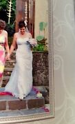Lace wedding gown.size 12/14. Roleystone Armadale Area Preview