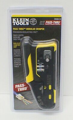 Klein Tools Ratcheting Cable Crimper And Stripper - Vdv226110 - New - Sealed