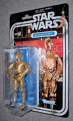 "Star Wars 6"" Black Series C-3PO SEE THREEPIO 40th Anniversary Series Dmgd Pkg"