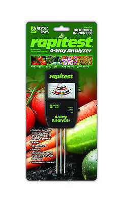 RAPITEST 4 WAY 1880 SOIL LAWN FLOWER PLANT TEST METER GARDEN TESTER pH NPK covid 19 (4 Way Soil coronavirus)