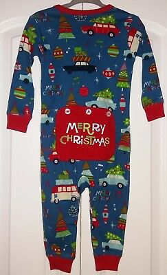 Little Blue House by HATLEY Baby Boys 1-Pc Christmas Pajamas PJ's Sz 12-18M NWT - Little Boys Christmas Pajamas