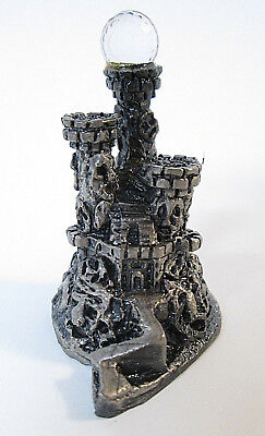 The Tudor Mint Myth and Magic CASTLE OF SOULS 3518 with Box Pewter UK Figure