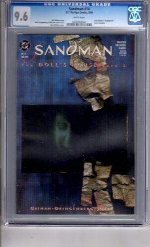 Sandman #14 CGC 9.6 W/P