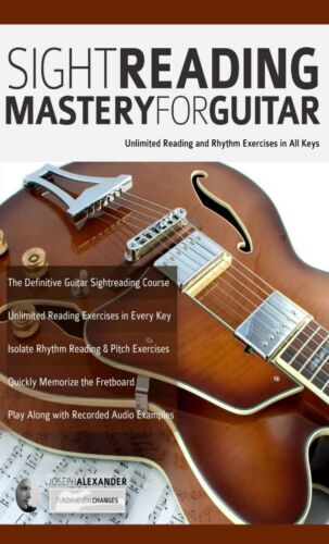 Sight Reading Mastery for Guitar: Unlimited exercises + Audio