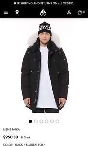 Authentic Men's Moose Knuckles Stirling Parka - Small