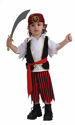 Toddler Boys Dress Up Clothes (Toddler Lil Pirate Boy Costume Dress Up Halloween Size)