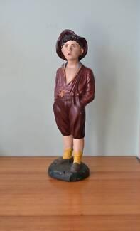 French Whistling Boy Statue 'Lamonaca' 166 Art Deco figurine Mordialloc Kingston Area Preview