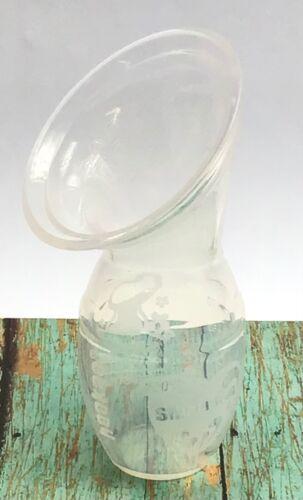 Haakaa Manual Clear Silicone One-Piece Breast Pump / Nursing Milk Supply / Gen 1