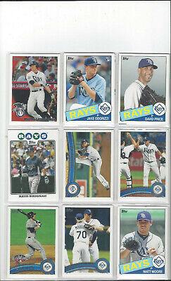 40x Baseballcards der Tampa Bay Devil Rays (Tampa Bay Rays Baseball)