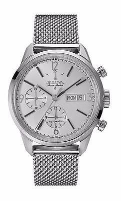 Bulova Accutron Men's 63C116 Accu Swiss Murren Automatic Chronograph Dress Watch