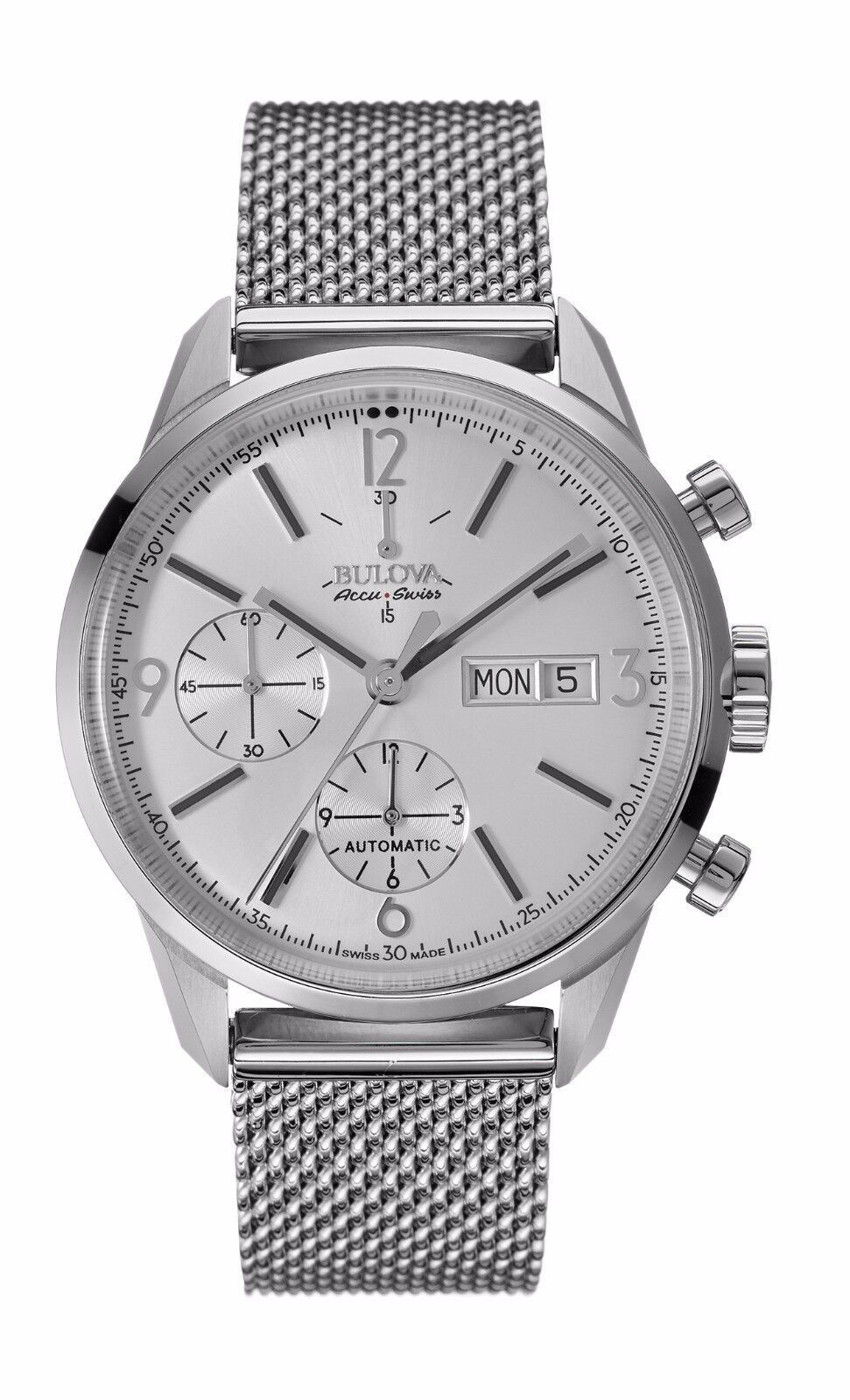 mens watches automatic swiss bulova accutron men s 63c116 accu swiss murren automatic chronograph dress watch