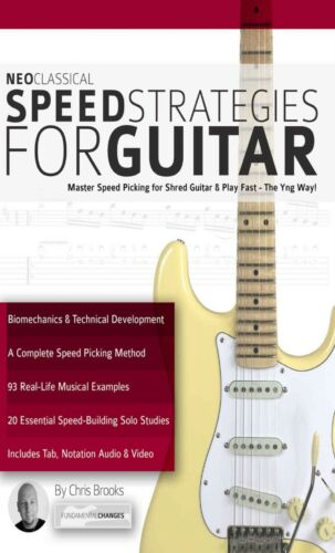 Neoclassical Speed Strategies for Guitar + Audio