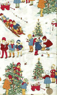 "BTFQ 18/""X22/"" CUTE CHRISTMAS SLEIGH WITH HOLLY"