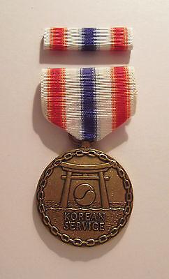U.S. Merchant Marines Korean War Medal with RIBBON