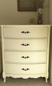 French Provincial Dresser/Highboy