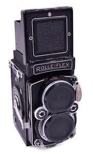 Rolleiflex 2.8D Twin Lens Reflex Camera, Schneider Xenotar 2.8 80mm Lens