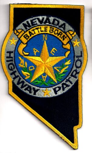 NEVADA HIGHWAY PATROL - SHOULDER PATCH - IRON OR SEW-ON PATCH